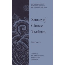 Sources of Chinese Tradition vol. II